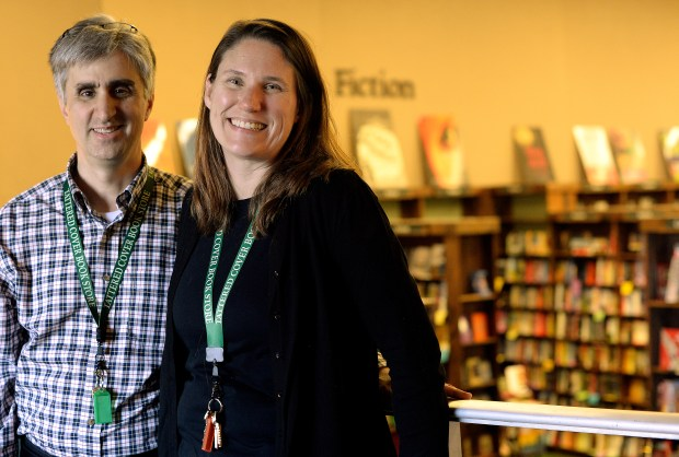 Len Vlahos and wife Kristen Gilligan are transitioning from members of Tattered Cover's management team to owners.