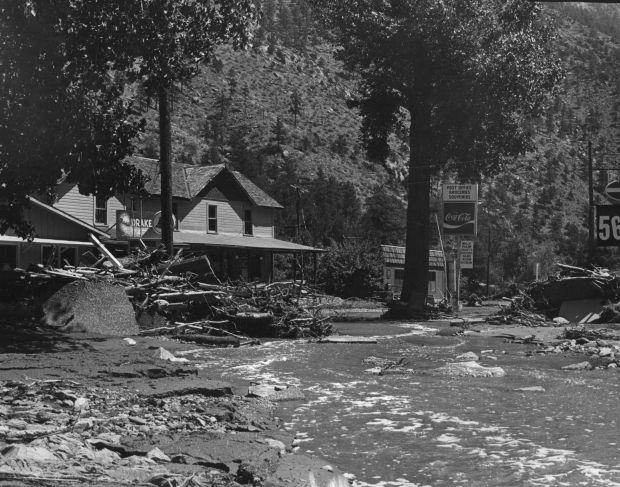 Photos Big Thompson River flood of 1976