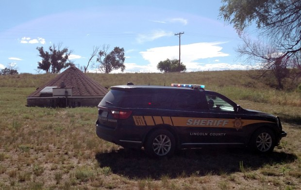 "A Lincoln County water well near Hugo, Colo., is ""being held"" by the sheriff's office until further tests can be completed, according to a tweet. (Provided by Lincoln County Sheriff's Office)"