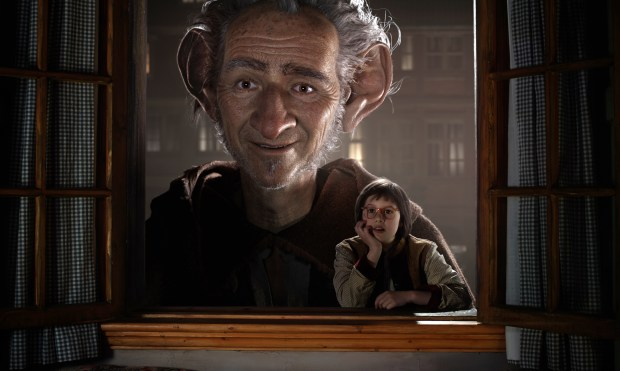 """Ruby Barnhill, right, and the Big Friendly Giant in """"The BFG,"""" an honest-to-goodness gut punch of a journey, crackling with heart and uncertainty, and overflowing with all-out wonder."""