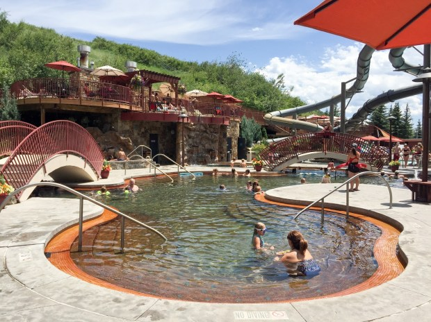 Old Town Hot Springs in downtown Steamboat Springs.