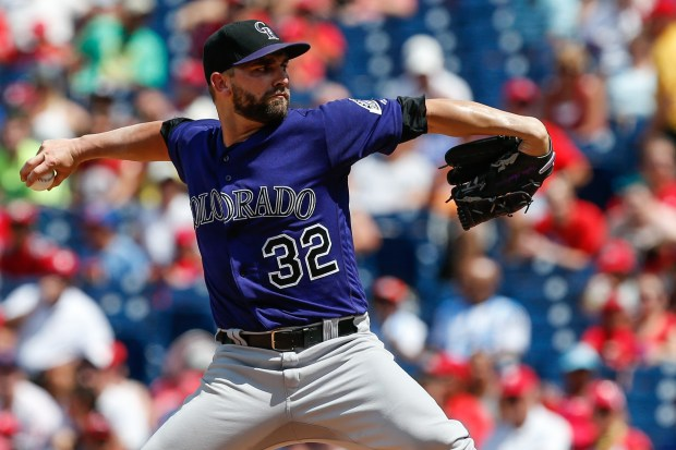 Starting pitcher Tyler Chatwood