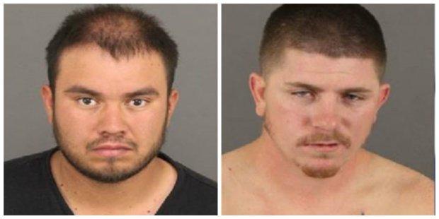 Brandon Karr, 24, and Rojelio Heredia, 24.
