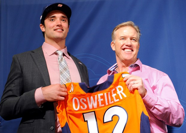 John Elway and Brock Osweiler