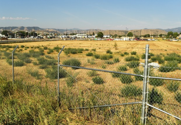 Wheat Ridge , August 15, 2016. Wheat Ridge City Council made a zoning change that paves the way for a sizable multi-family housing development to go in next to the G-Line's end-of-the-line station, August 15, 2016. A vacant 7.5-acre parcel at the southwest corner of West 52nd Avenue and Tabor Street, known as the Hance Ranch, is going to be developed into a mid-priced project featuring 230 apartments and 80 townhomes.