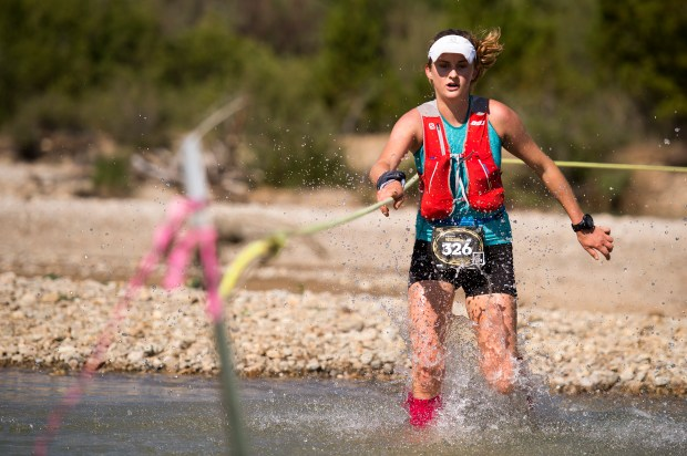 Clare Gallagher at the Leadville 100