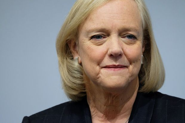 Republican Meg Whitman, the chief executive of Hewlett Packard Enterprise and a 2010 candidate for governor of California in 2010, endorsed Hillary Clinton for president this week.