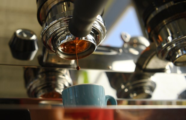 An espresso shot is pulled at Prodigy Coffeehouse in north Denver on Aug. 9, 2016.
