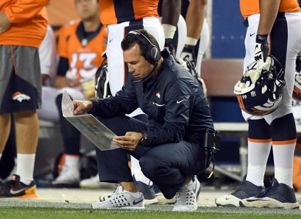 Denver Broncos head coach Gary Kubiak