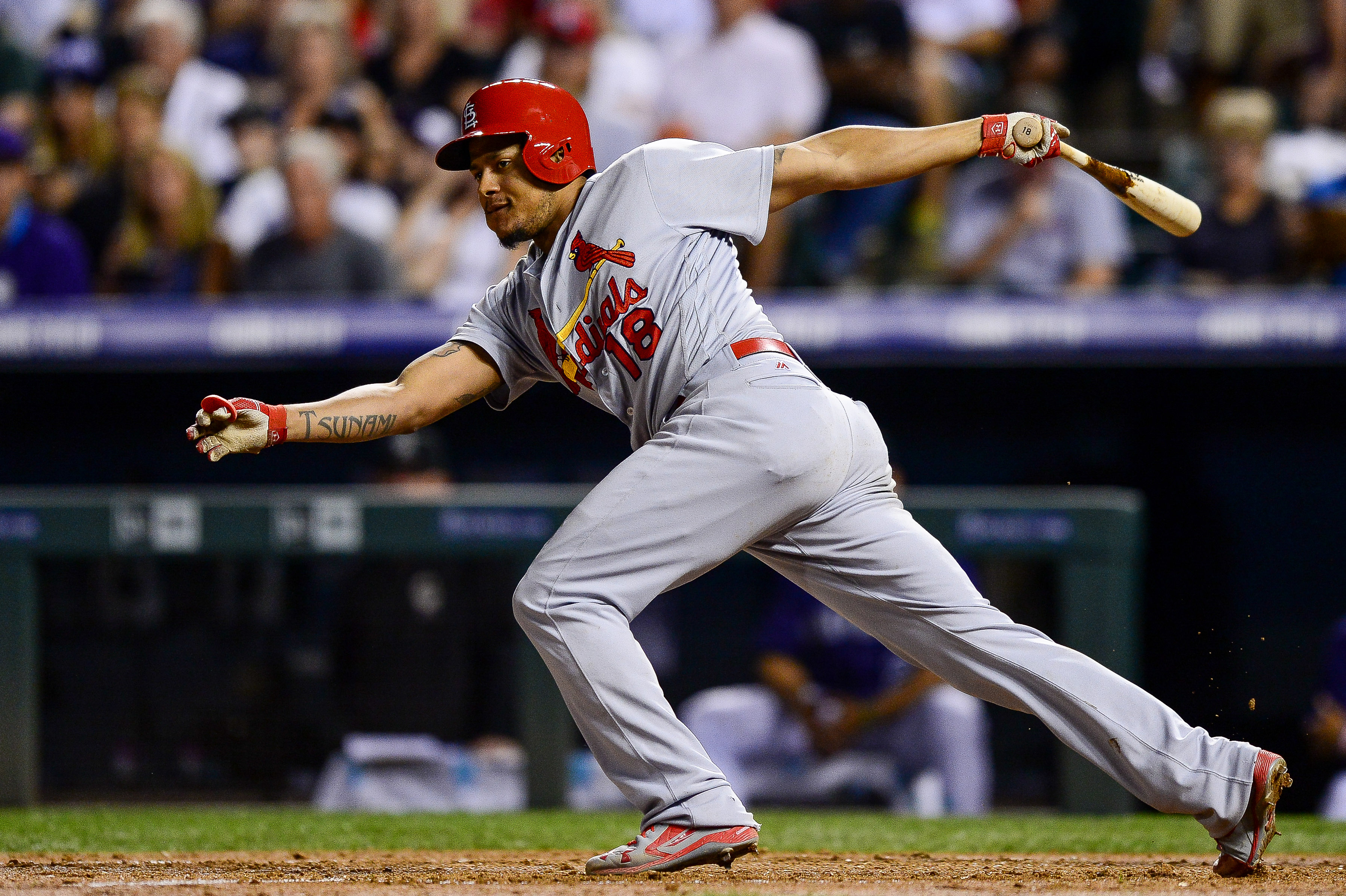 Wainwright drives in 4 as Cards beat Rockies 10-5