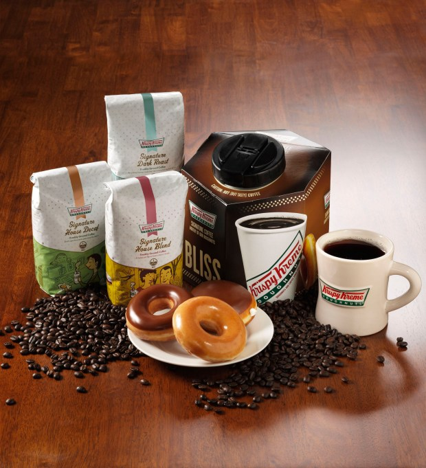 Krispy Kreme will give away free cups of coffee on Sept. 29th for National Coffee Day Freebies.