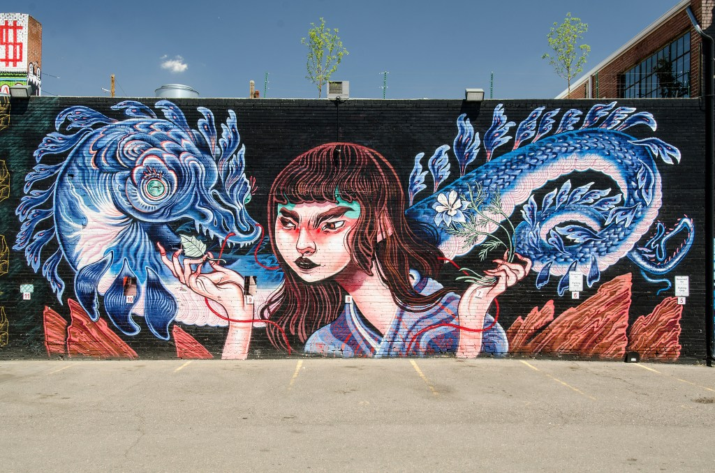 Video RiNo Art District Murals Stampede Onto Denvers
