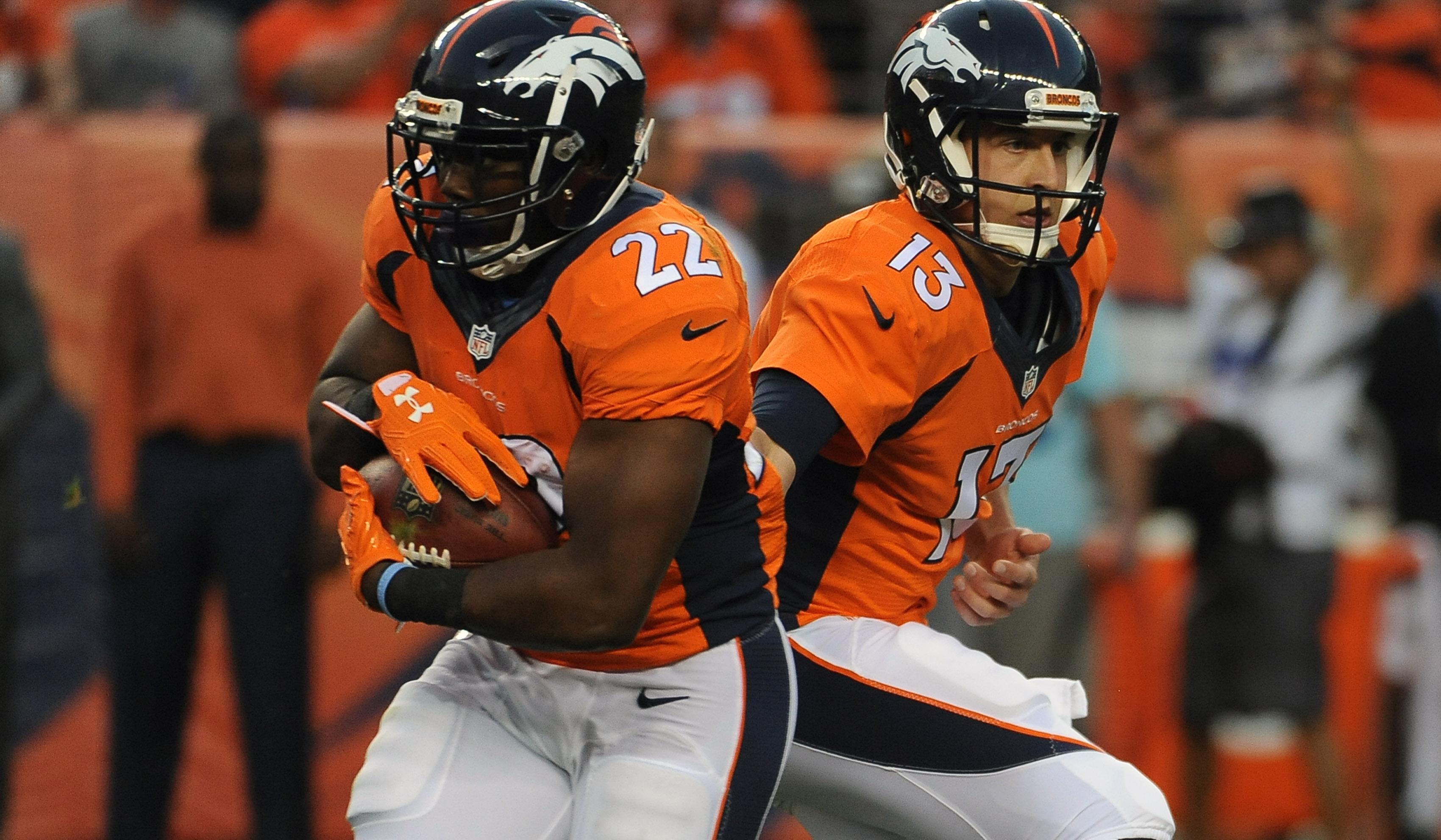 Broncos team stats 2016