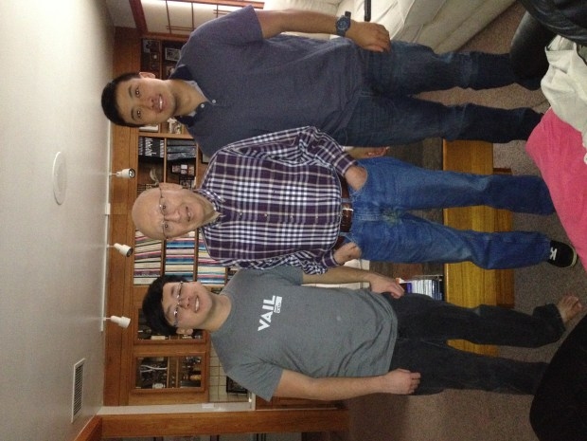 """Hikaru """"Carl"""" Iwasaki, center, died last week in his Denver home at age 93."""