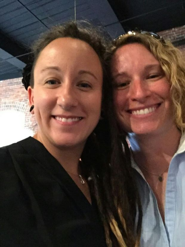 Jennifer Johnson, left, has filed a lawsuit against Whole Foods for discrimatory harassment.