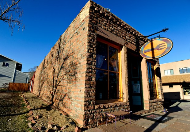The Lyons Fork restaurant in the historic McAllister Saloon building, 450 Main St., on Monday, March 25, 2013.