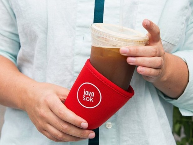 Java Sok drink sleeve.