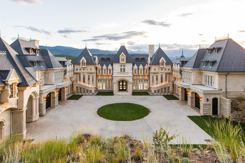 175 million Chateau V in Evergreen is a mansion modeled