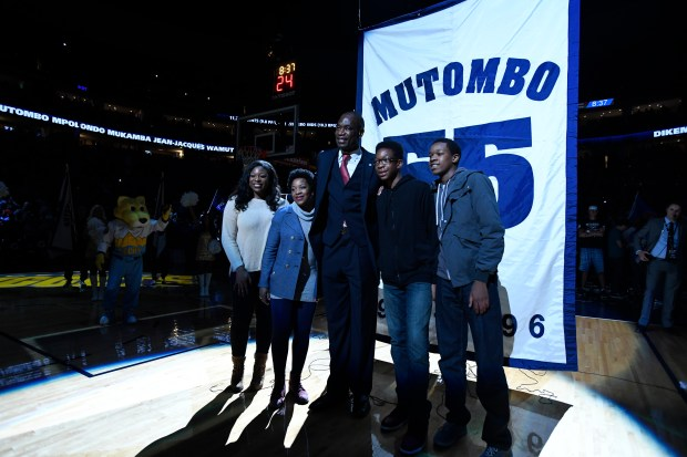 Amid coronavirus crisis, Nuggets legend Dikembe Mutombo can't stop playing defense