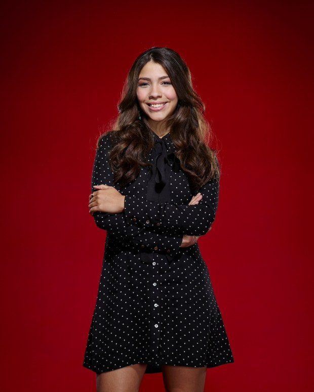 Boulder's Halle Tomlinson is a contestant on season 11 of NBC's The Voice. (Photo by: Chris Haston/NBC)