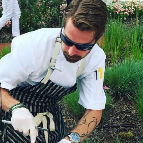 Blackbird chef Nick Lewis