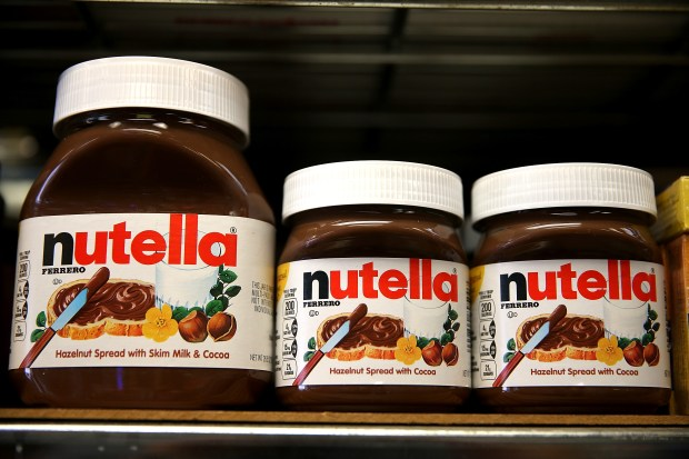 """Nutella maker tells FDA, """"We're not just for dessert anymore ... on us map year, us map display, us map transparency, us map card, us map scrapbook, us map feature, us map country, us map banner, us map canvas, us map pattern, us map draw, us map star, us map format, us map track, us map watermark, us map postcard, us map title, us map paper, us map copy, us map number,"""