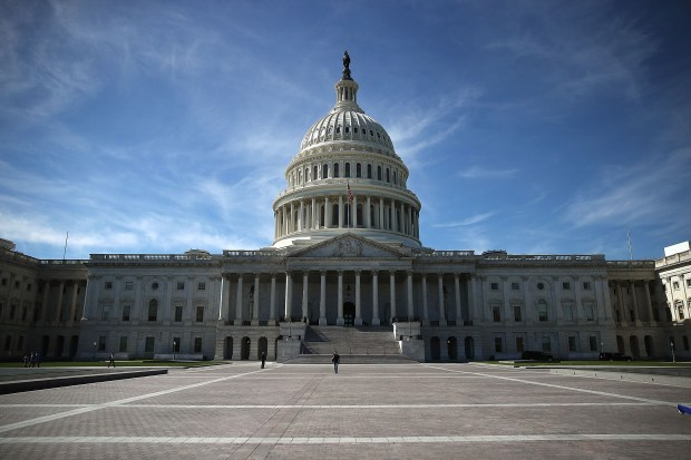 The U.S. Capitol is shown Oct. 11, 2016 in Washington D.C.