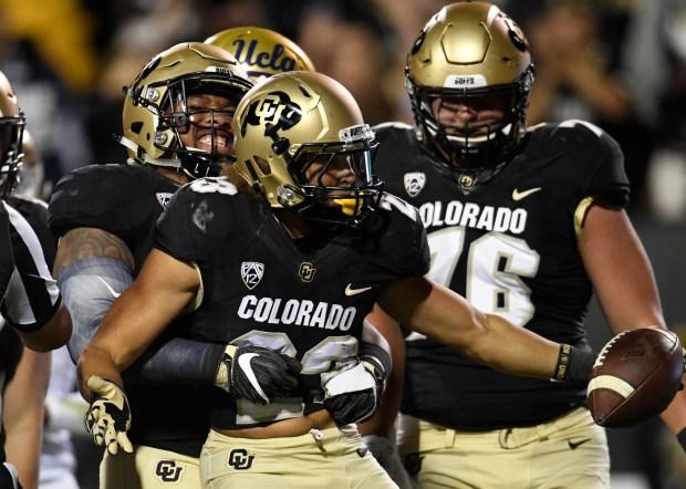 Colorado Buffaloes running back Phillip Lindsay