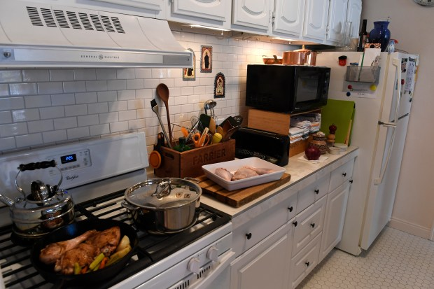 """Local well-known """"foodie"""" Bill St. John helps us get prepared for the upcoming Thanksgiving Day holiday with a clean kitchen and all the items you need on hand before you start on October 26, 2016 in Denver."""