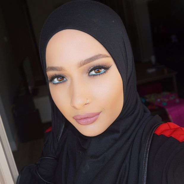 Beauty blogger Nura Afia, of Denver, is CoverGirl's first model who wears a hijab.