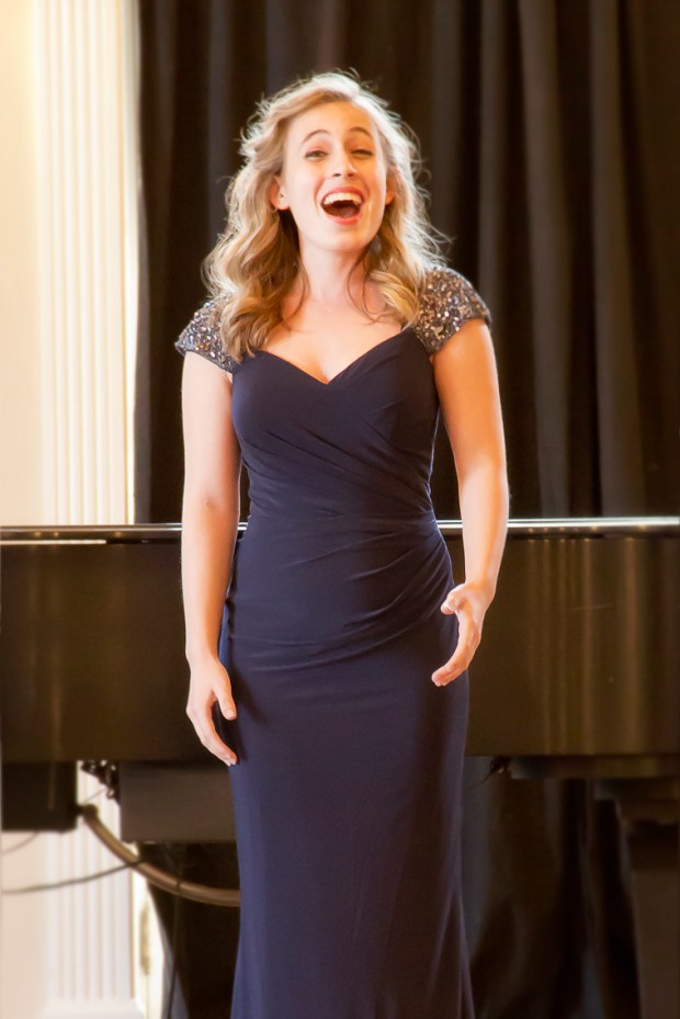 An unnamed high school student sings as part of the annual Schmidt Youth Vocal Competition, which is coming to CU-Boulder on Dec. 10 for the first time.