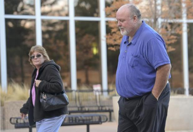 David and Vanessa Hall, parents of a blind and autistic son from Longmont, appear for a preliminary hearing in Boulder County District Court on Monday.