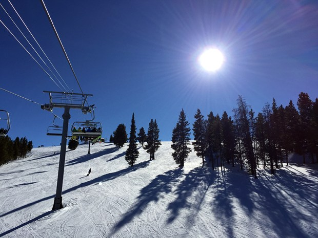 A major change in the rules should be enacted for the slopes. Instead of schussing down mountains, skiers should only be allowed to traverse upward.