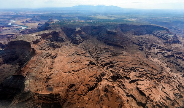 This May 23, 2016, file photo shows Lockhart Basin, south of the Colorado River, within the boundary of the Bears Ears region in southeastern Utah. President Barack Obama designated two national monuments Wednesday at sites in Utah and Nevada that have become key flashpoints over use of public land in the U.S. West.