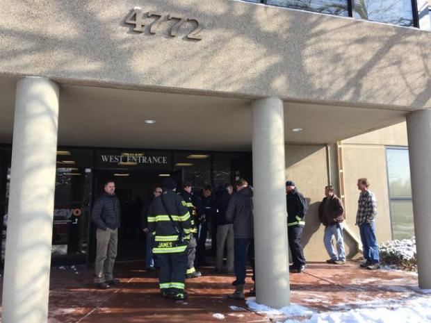 Boulder Police evacuated 4772 Walnut St. on Thursday after a report of a structural problem.