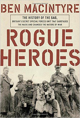 """Rogue Heroes"" book cover"