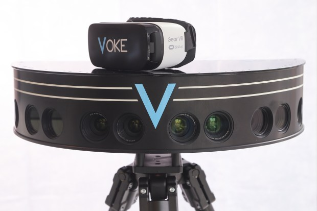 VOKE VR's 360-degree camera is what captures immersive footage for virtual-reality videos. On Sunday, Dec. 4, 2016, Voke's team will be recording highlights from the Denver Broncos game and release footage after each quarter and at the end of the game.