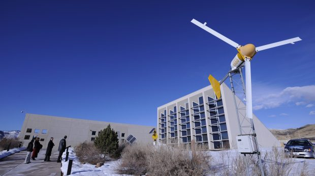 The Visitors Center at the National Renewable Energy Lab, NREL, in Golden.