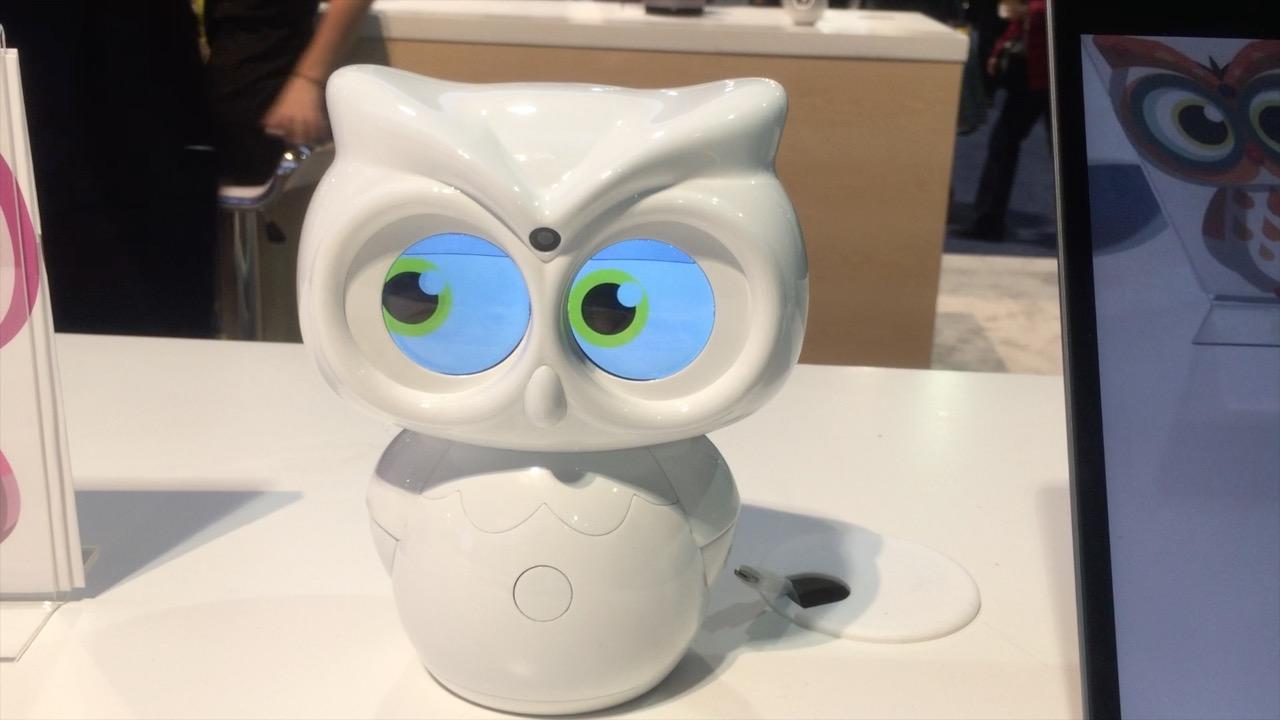 cute robot alert panasonic
