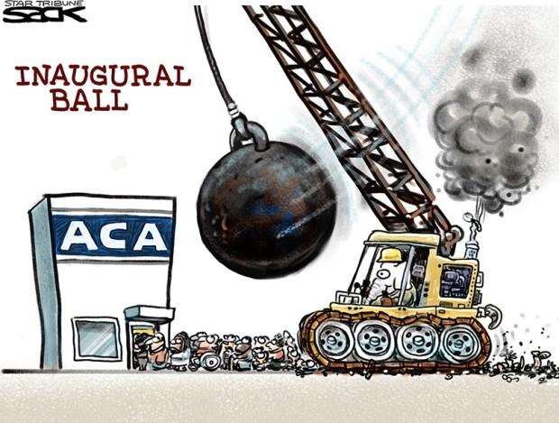 end-of-obamacare-cartoon-sack