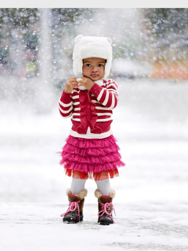 47a33ef7b323e A faux fur hat will keep you warm and looking cool.