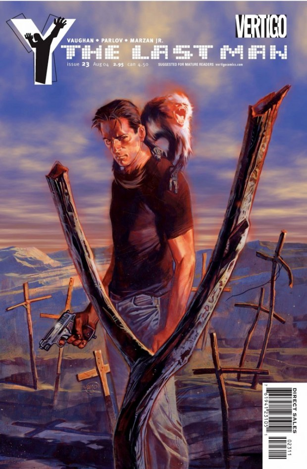 "Vertigo Comic's ""Y: The Last Man,"" by writer Brian K. Vaughn and artist Pia Guerra may finally receive a live-action adaptation from FX."