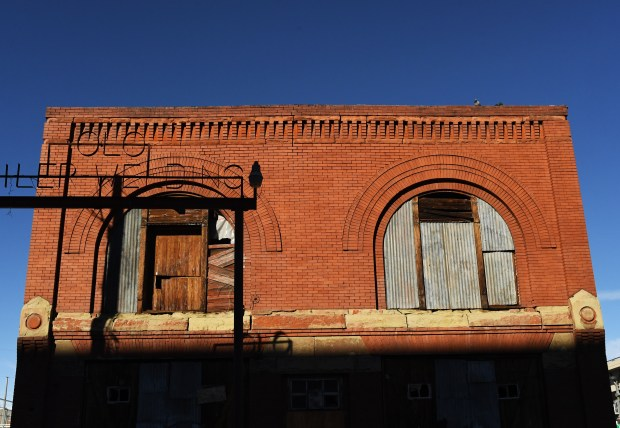 The historic Denver Hose Company No. 1 building near Coors Field is getting a new lease on life, January 18, 2017. The 1883 structure will be restored as part of a $80 million hotel development breaking ground this week.