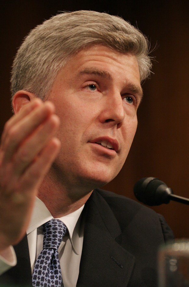 Neil Gorsuch in June 21, 2006 in Washignton.