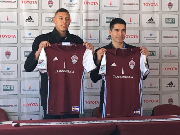 Rapids sign two players