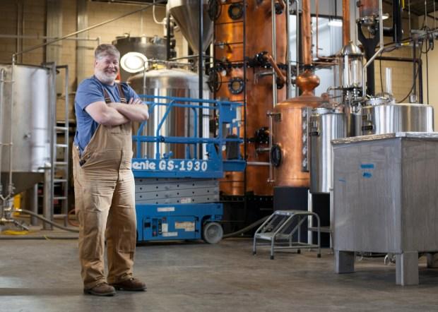 Todd Leopold, distiller at Leopold Bros. ...