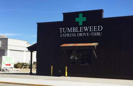 The Tumbleweed Express in Parachute will be the first drive-thru marijuana dispensary in the state.