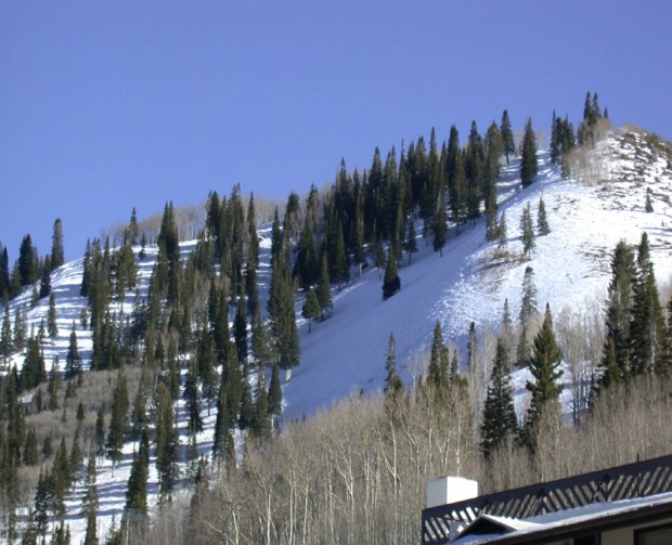 A steep run at Sunlight Mountain Resort.