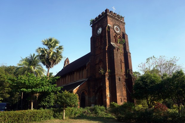 St. Matthew's Anglican church is one of a number of Christian churches built in the 19th century in Mawlamyine. Although much in need of renovation, they remain places of worship today.