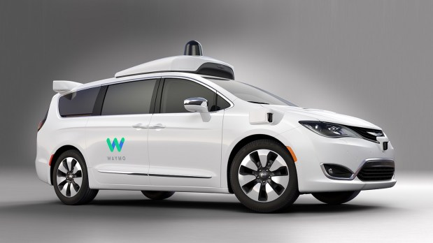 Waymo, formerly Google's self-driving car project, added Chrysler Pacifica Hybrid minivans to its ongoing autonomous vehicle road tests.